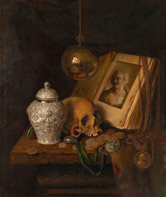 Pieter Gerritsz van Roestraten – Vanitas (1672)