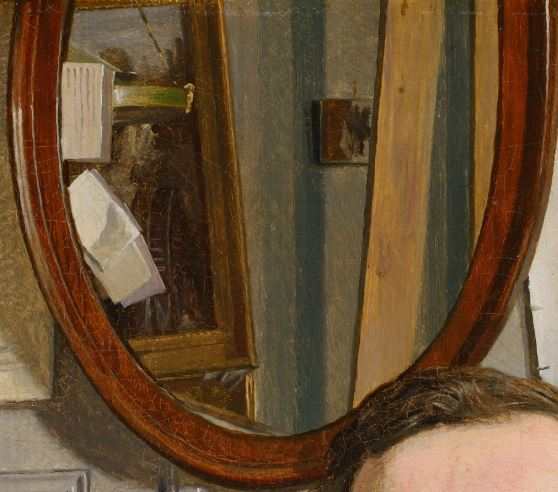 Portrait_of_the_landscape_painter_Frederik_Sodring_-_Christen_Kobke_-_Google_Cultural_Institute miroir