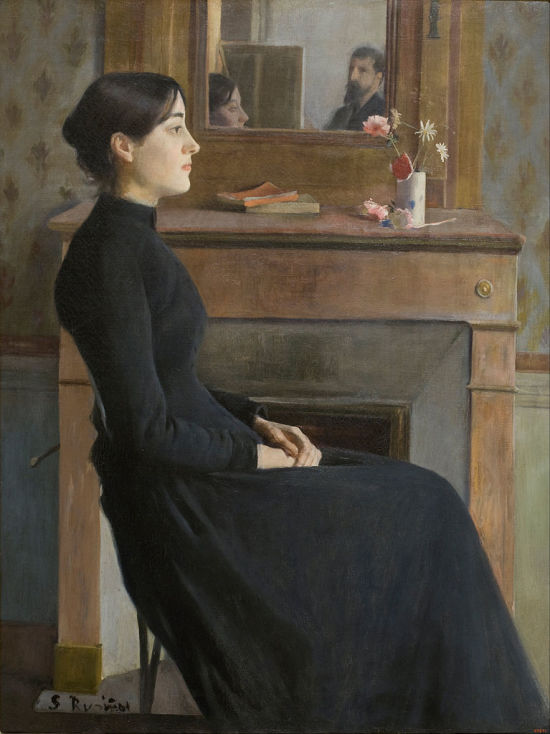 Santiago_Rusinol_-_Female_Figure_-1894