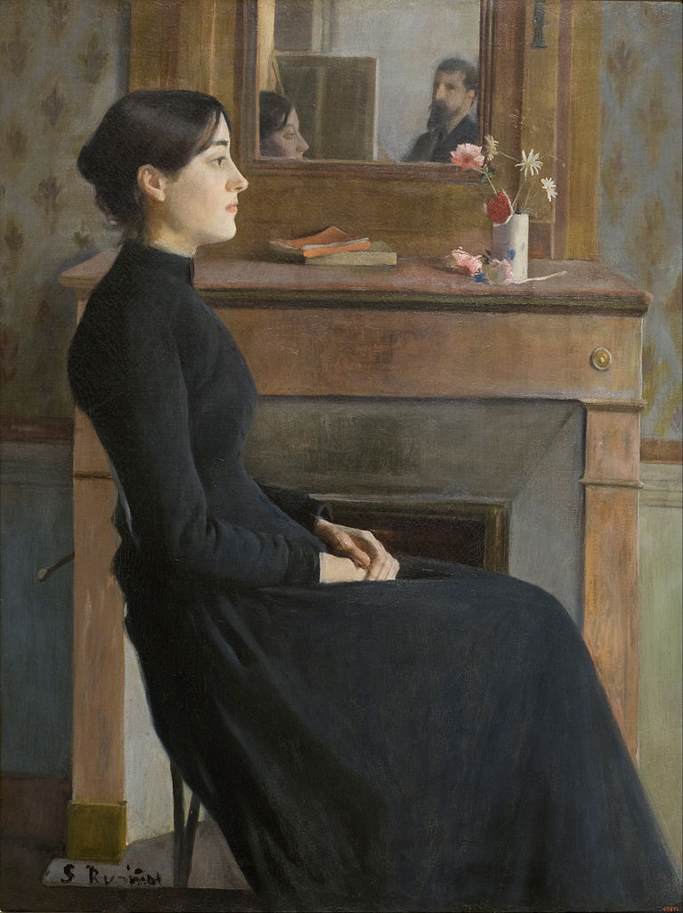 Santiago_Rusinol_-_Female_Figure_-1894
