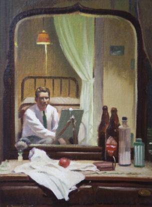 Self-portrait, Duane Bryers, 1939, coll privee.