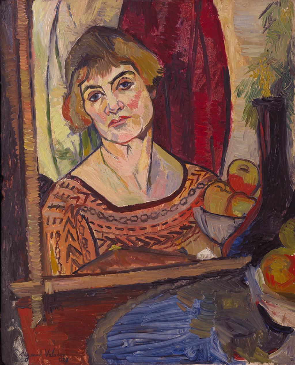 Suzanne Valadon self-portrait-1927 Musee Maurice Utrillo, Sannois