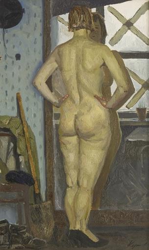 geliy korzhev Devant le miroir 1972,
