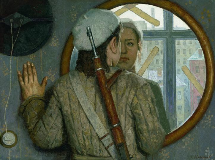 geliy korzhev-before-a-long-journey-1976 Museum of Russian Art, Minneapolis
