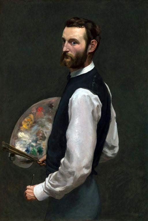 jean-frederic-bazille-self-portrait