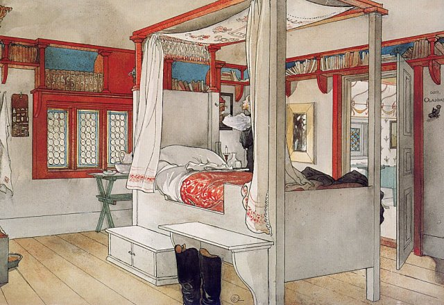 larsson daddy-s-room, vers 1895
