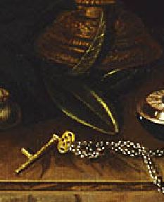 pieter gerritsz van roestratenNature morte au chandelier laurier