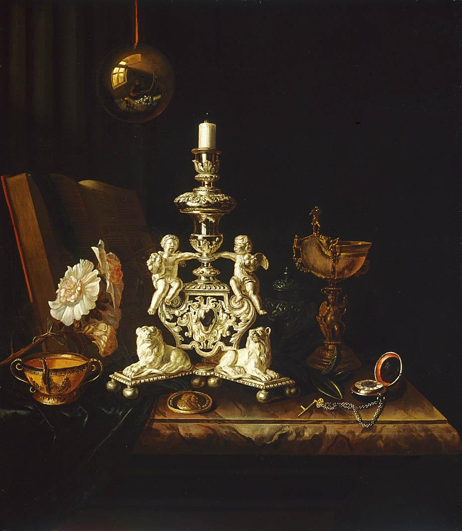 pieter gerritsz van roestratenNature morte au chandelier