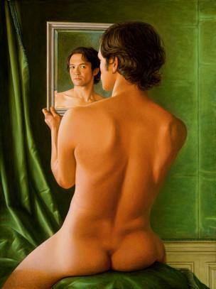 stephen-odonnell-narcisse (autoportrait)-2014