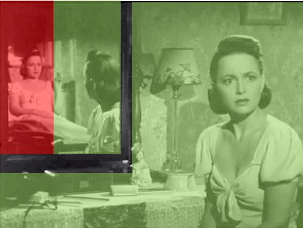 the-dark-mirror-robert-siodmak 1946 Olivia de Havilland schema