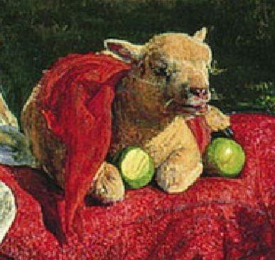 William_Holman_Hunt The hirelong shepherd agneau