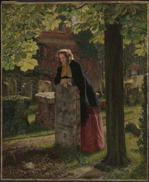 The Doubt: 'Can these Dry Bones Live?' exhibited 1855 by Henry Alexander Bowler 1824-1903
