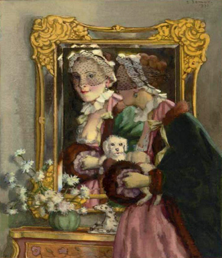 1930 Somov A fair reflection