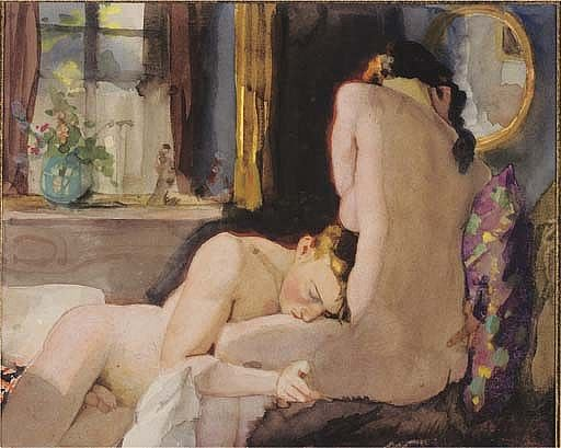 1933 Somov The Lovers