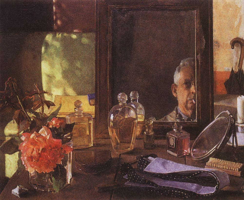 1934 somov self-portrait-in-the-mirror-