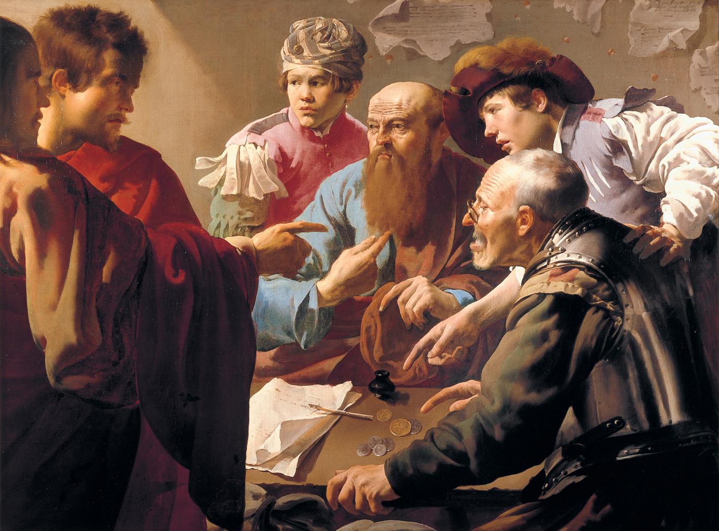 Brugghen,_Hendrick_ter_-_The_Calling_of_St._Matthew_-_1621
