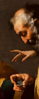 La vocation de saint Matthieu Bernardo Strozzi,  1620,  Art Museum, Worcester, Massachusetts main