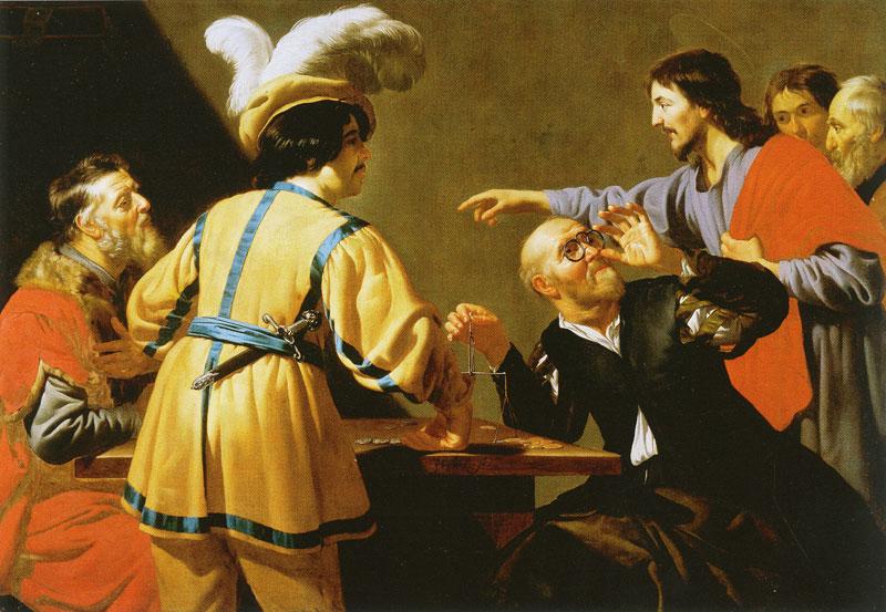 The Calling of St. Matthew Jan van Bijlert 1620-29 Museum Catharijneconven Utrecht