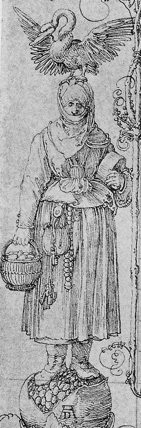 Dürer, Marge du Livre de Prieres de l'Empeureur Maximilien Munich Staatsbibliothek