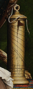 Detail_-_Shepard_Dial_-_from_The_Ambassadors_-_Holbein
