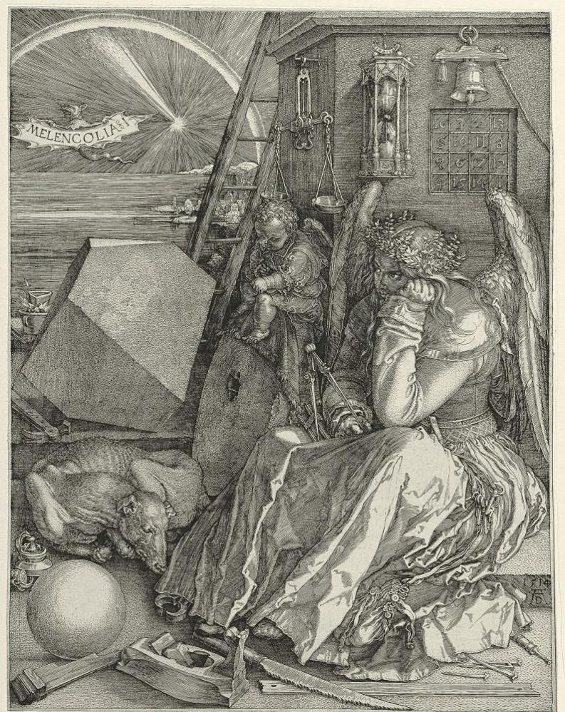 Durer Melencolia I 1514