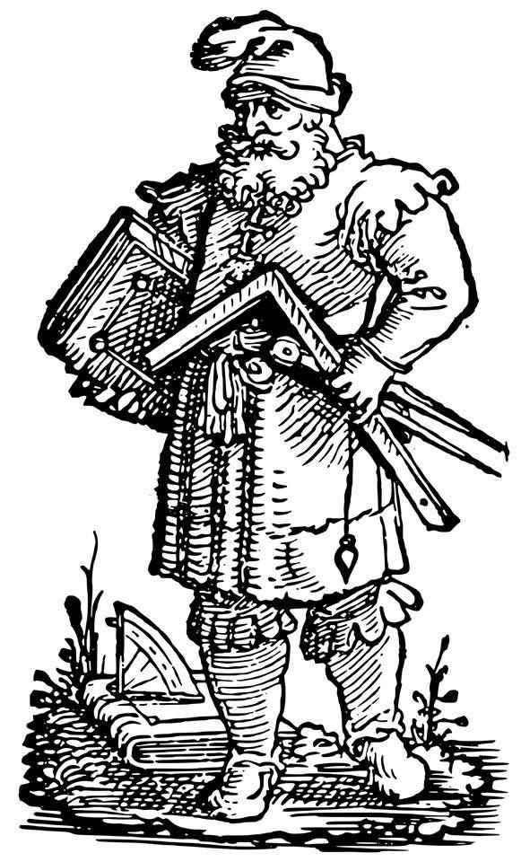 Maitre macon Jost Amman 1536