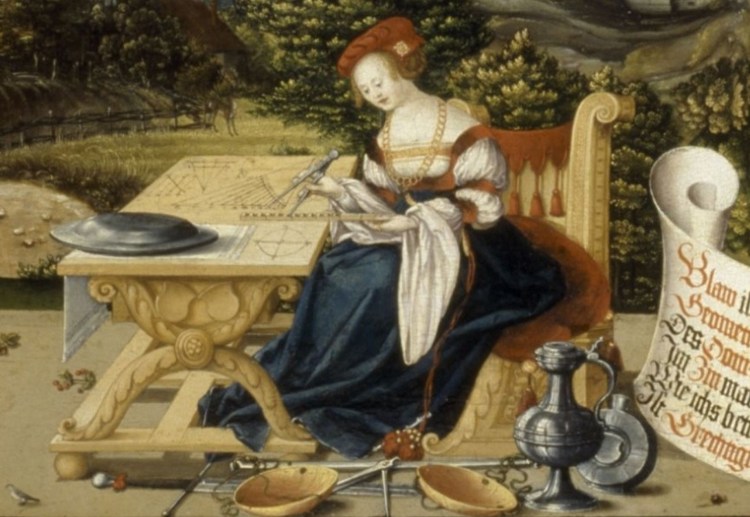 Martin Schaffner 1533 table pour Asymus Stedelin Museumlandshaft Hessen, Kassel