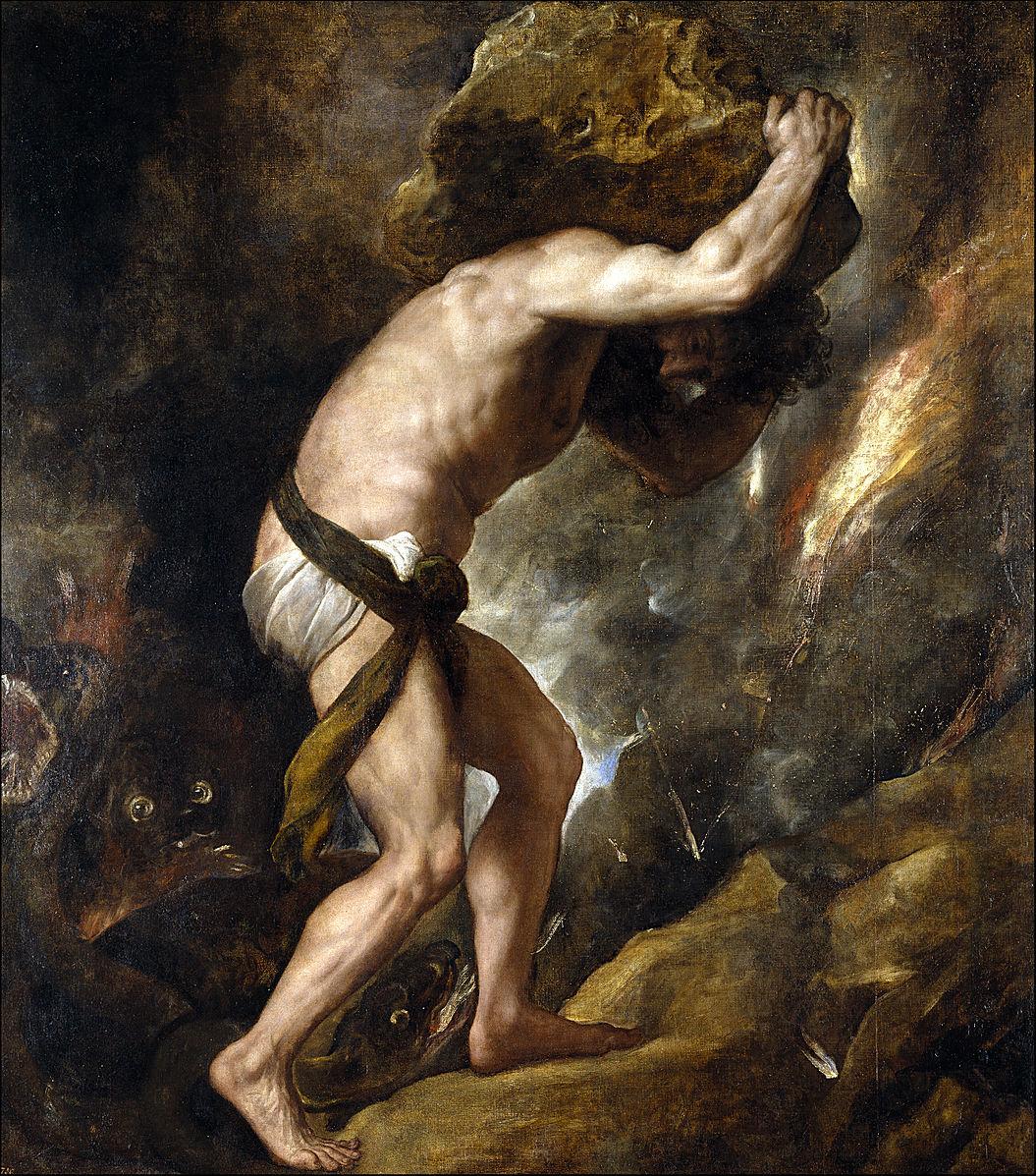 Punishment_sisyphus  Titien 1549 Prado