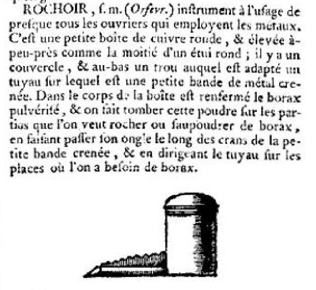 Rochoir Encyclopedie