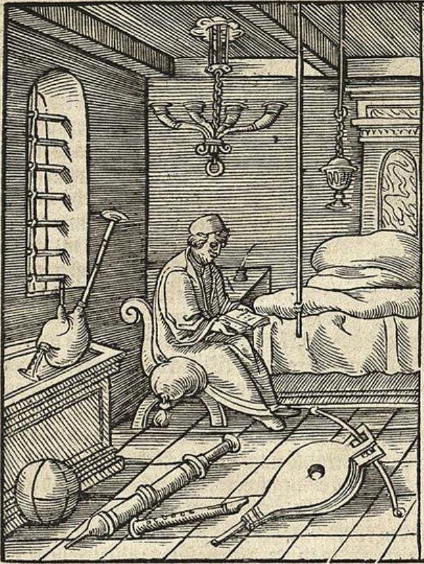 Vitruvius 1548 Instrument de musique