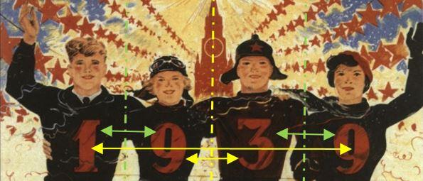 Bonne annee 1939 sovietique _symetries
