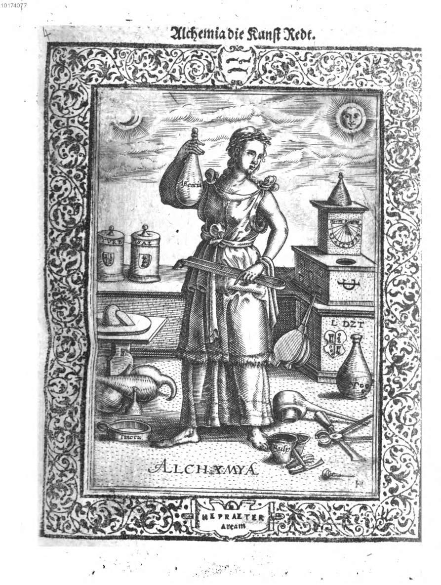 Thurneisser zum Thurn Quinta essentia Munster Ossenbruck, 1570