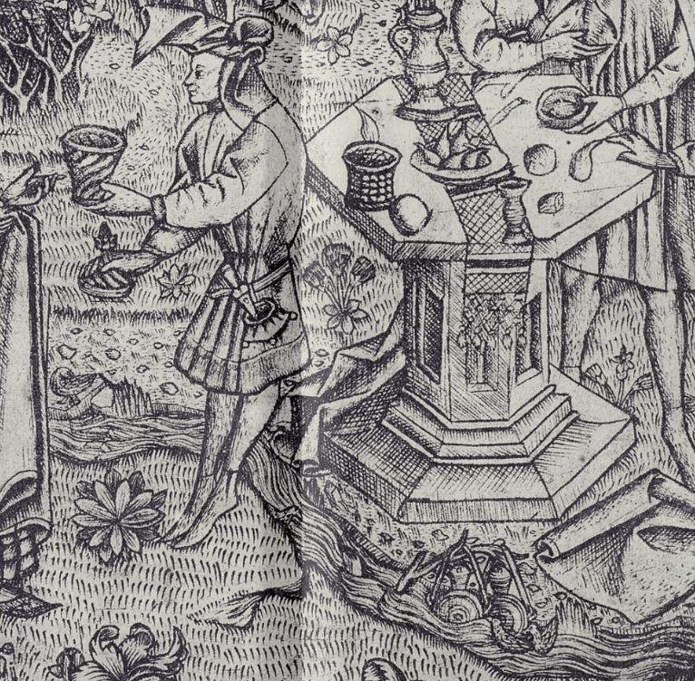 1450 ca Maitre des jardins d'amour Le grand Jardin d'Amour pique nique