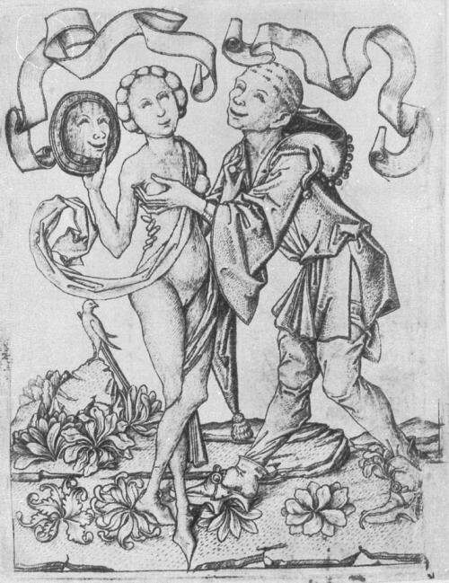 1460 Maitre_ES_L.213_Fou_et_jeune_fille_au_miroir