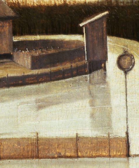 1500 (ca) Carpaccio chasse sur la lagune voliere