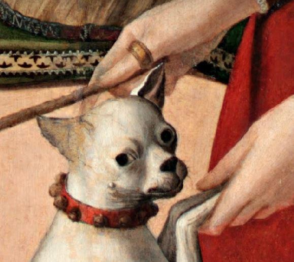 1500 (ca) Carpaccio deux dames vénitiennes main