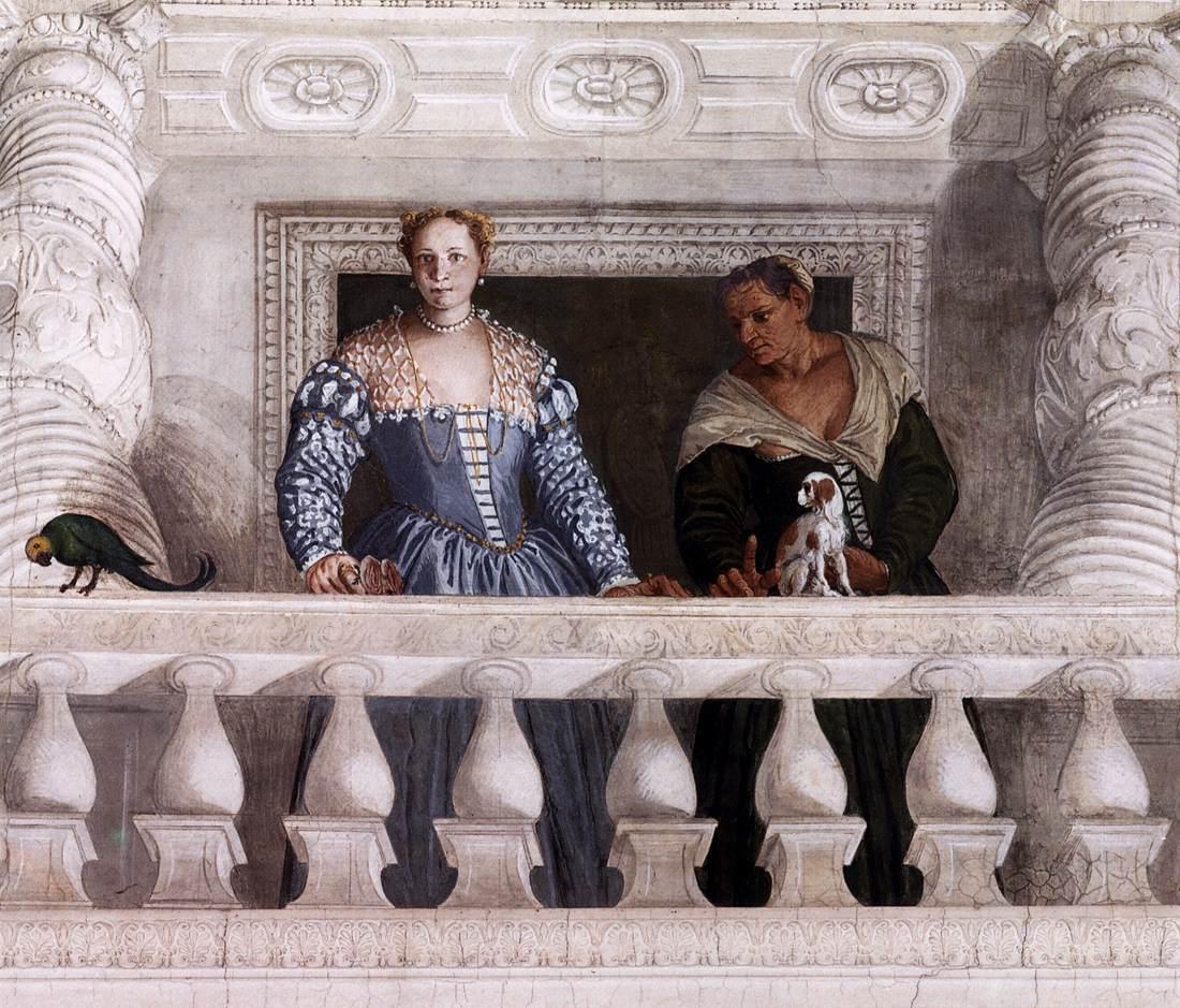 1560-61 giustiniana-giustiniani-with-wetnurse-by-Veronese villa barbaro maser