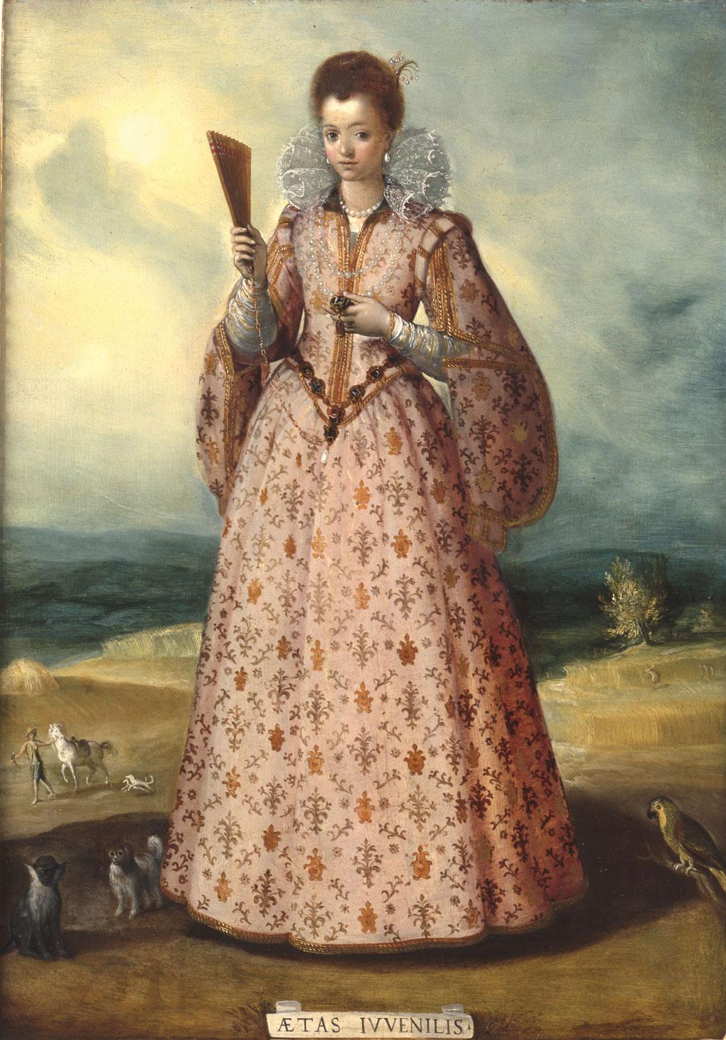 1580-1600 santi_di_tito la jeunesse musee fesch