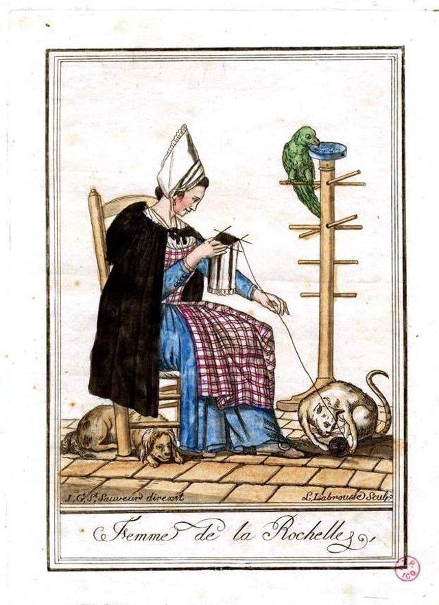 1796 Femme-de-la-Rochelle LABROUSSE L  PIGELET Michel