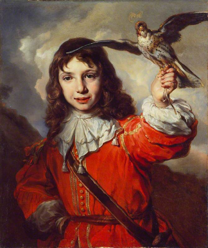 van Noordt, Joan, 1624-c.1676; A Boy with a Falcon