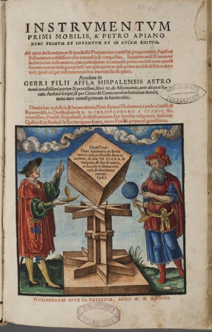 Polyedre Petrus Apianus 1534