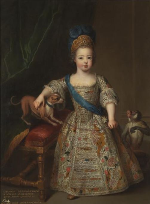 SC_1714 Pierre Gobert (French artist, 1662-1744) Portrait of Louis XV as a child