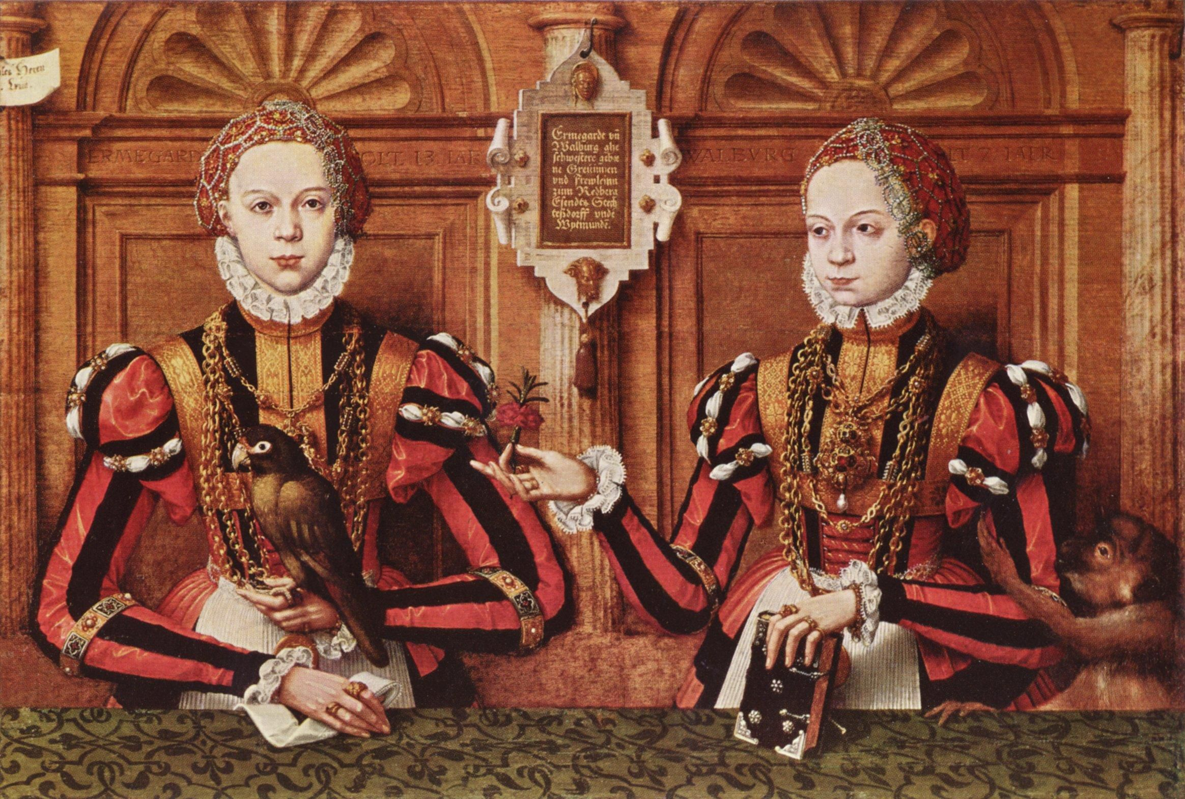 SP_1564. Hermann tom Ring, Ermengard und Walburg countess von Rietberg