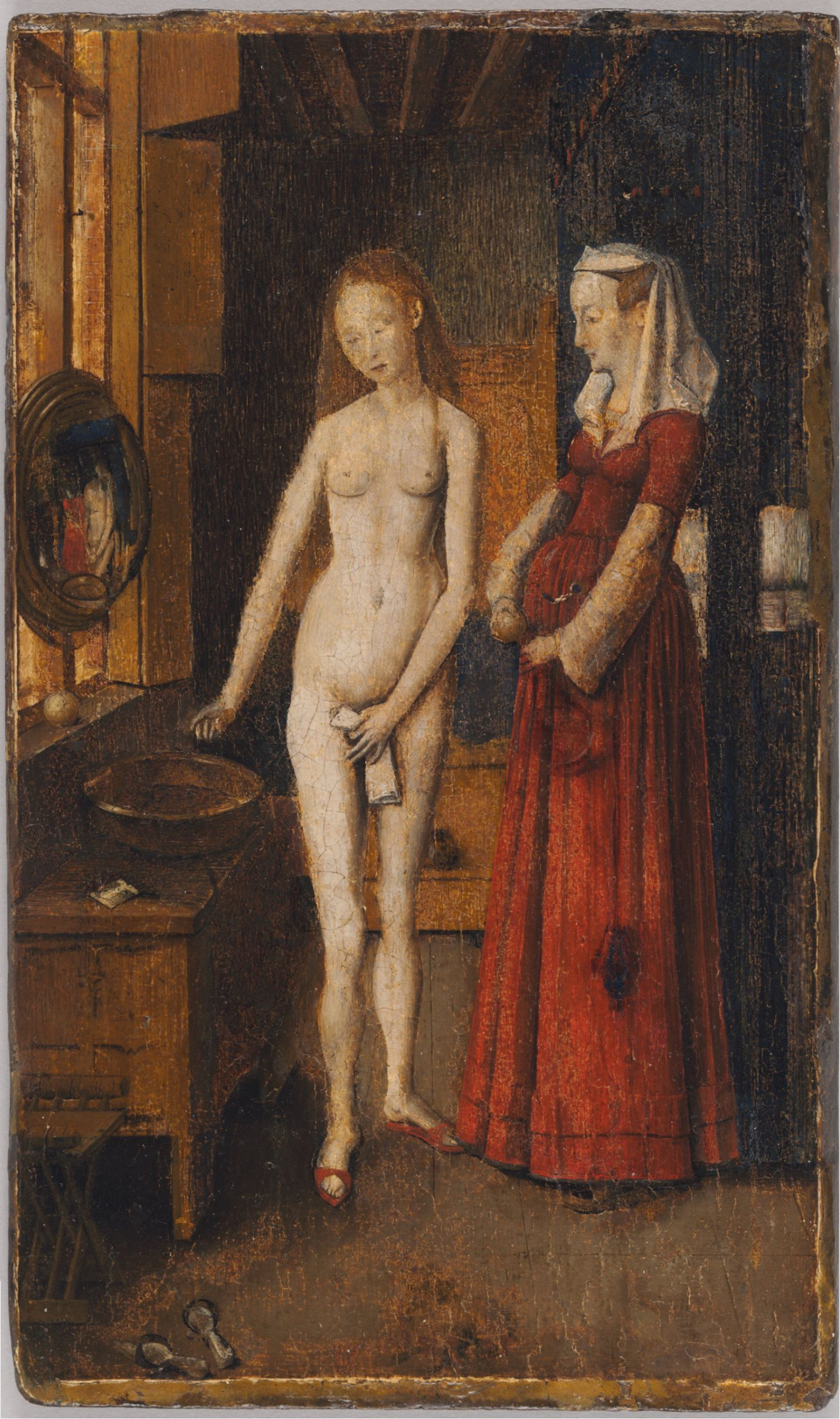jan-van-eyck-femme a sa toilette-cambridge-fogg-art-museum