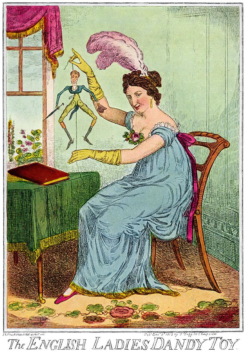 1818-English-Ladies-Dandy-Toy-IR-Cruikshank