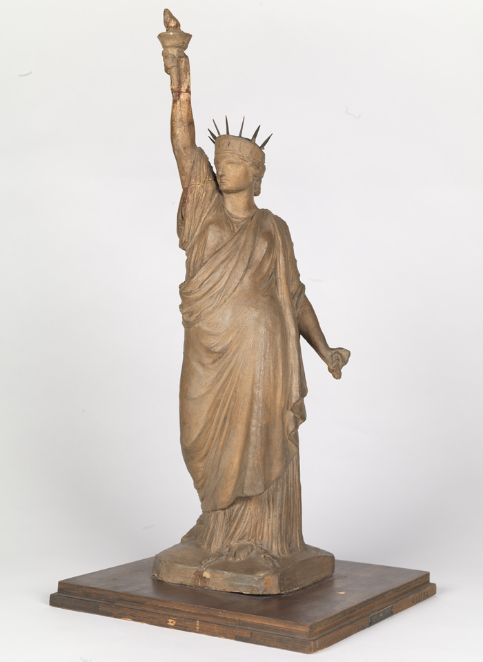 1870 ca Bartholdy Esquisse pour la statue de la liberte Brooklin Museum
