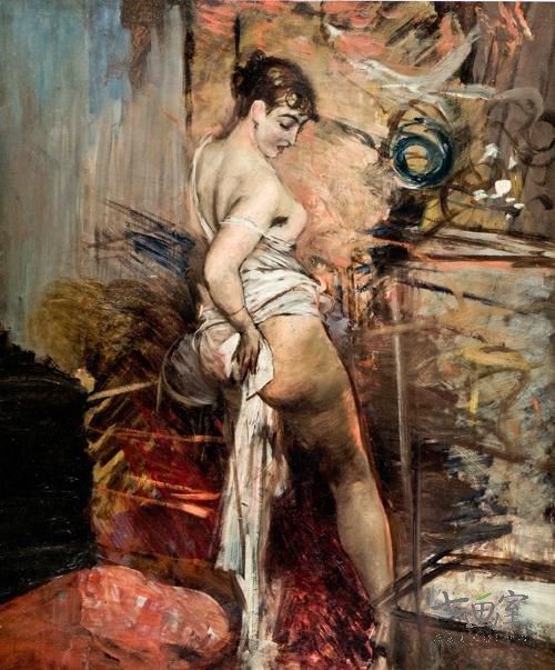 1873 ca boldini_la-toilette