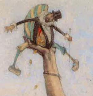 1883-85 rops Dame au Pantin  detail pantin