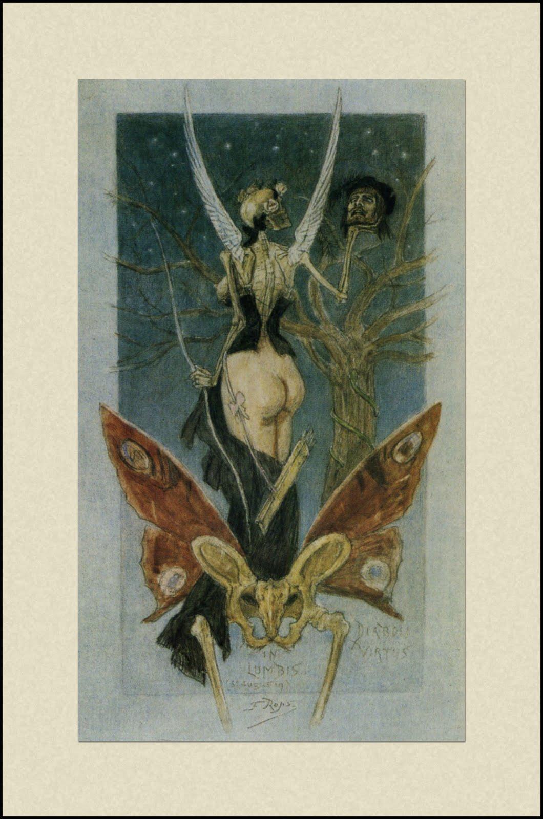 1888 Rops_DiaboliVirtusInLumbis