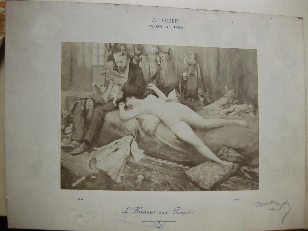 1896 Jean Veber L homme aux poupees